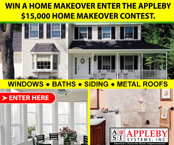Appleby Windows - Win a $15,000 Home Makeover