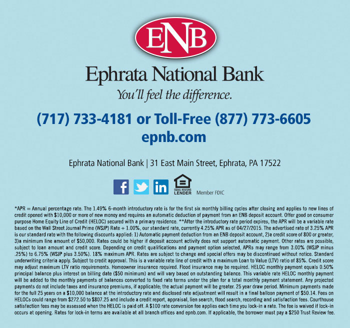 Ephrata National Bank - You'll feel the difference