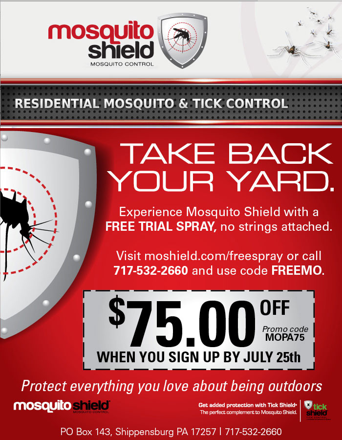 Mosquito Shield - Take Back Your Yard