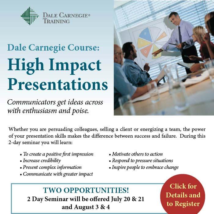 Dale Carnegie Course - Register Now